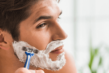 Natuurlijke scheertips voor mannen