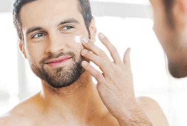 Een goede gezichtscrème voor mannen